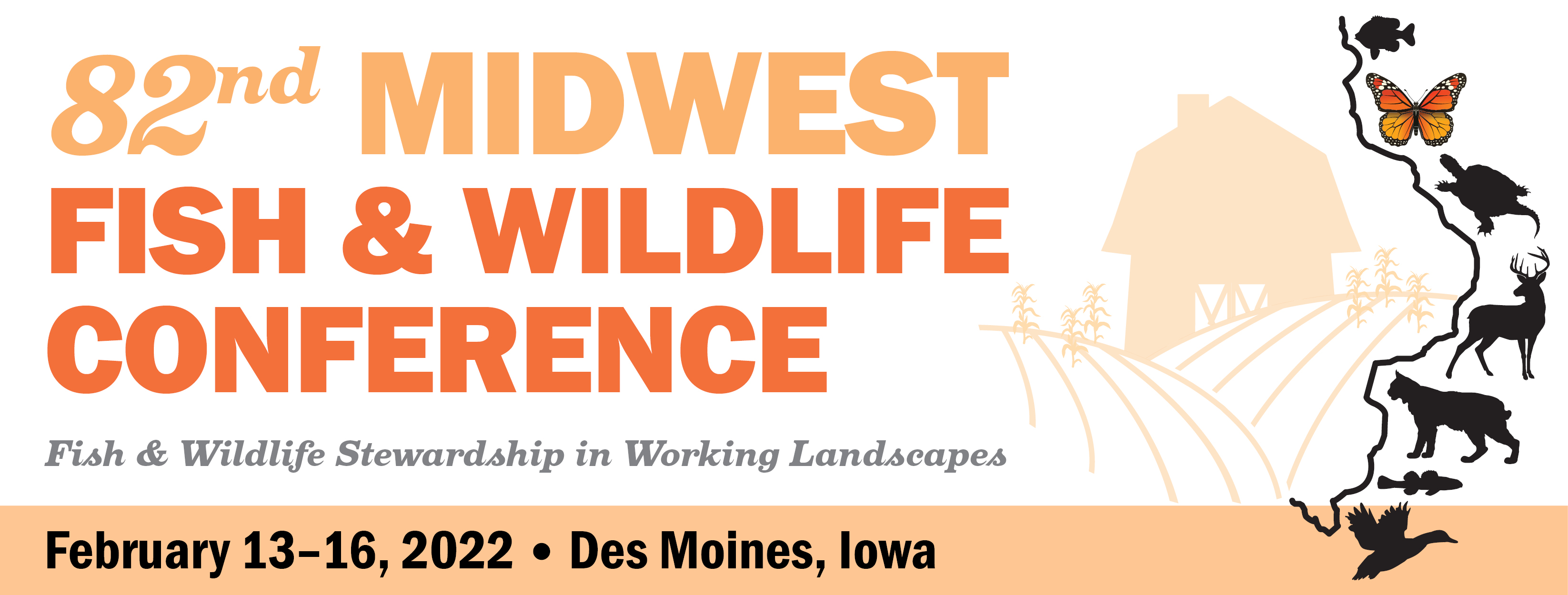 Midwest Fish & Wildlife Conference Header