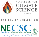 USGS Northcentral Climate Science Center Logo